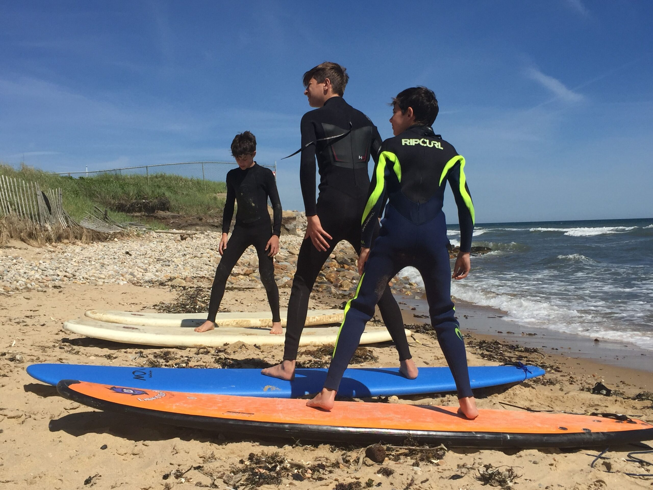 Amiels Sons Surfing