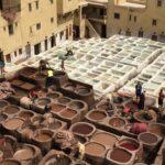 Dye Vats In Fez Morroco