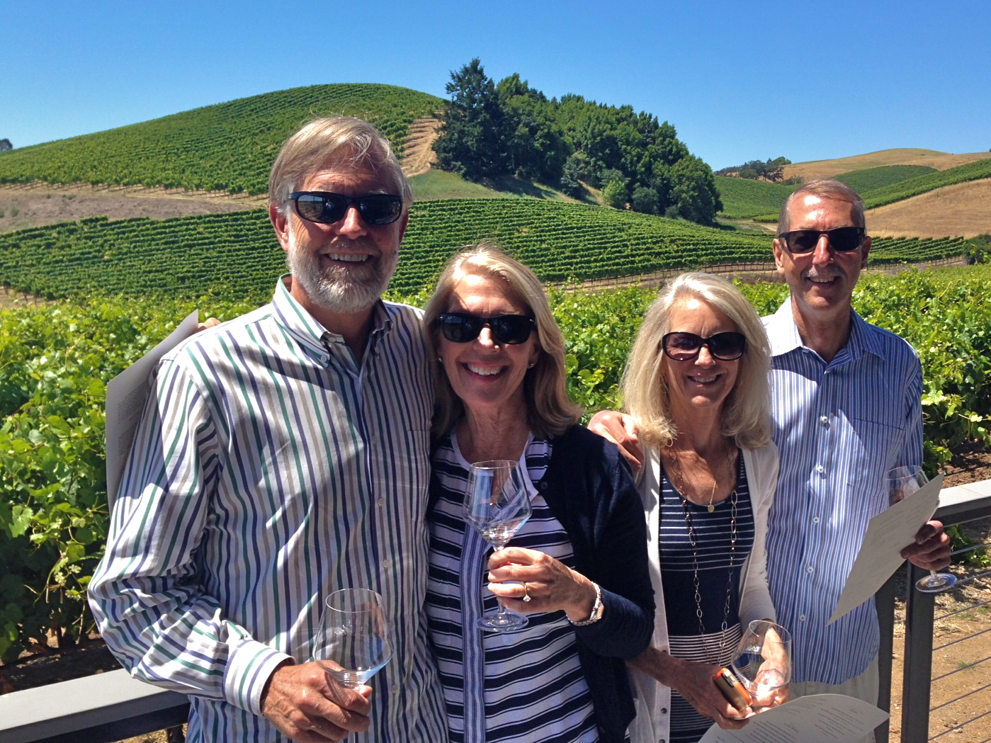 Nancy In vineyard