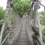 SA Oct 14 2012 Ulusaba 2nd Rope Bridge