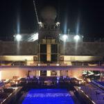 Regent Explorer Pool at Night