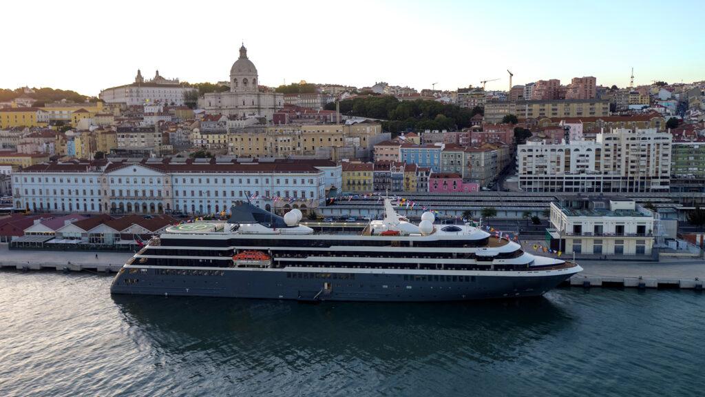 World Navigator Docked Lisbon